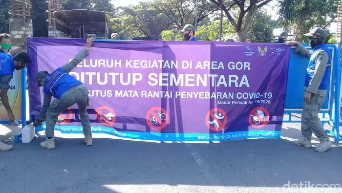 Pemkot Tutup GOR Joyoboyo Agar Kota Kediri Jadi Zona Hijau COVID-19