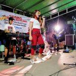 Kiki Bintang Pantura meramaikan Galang dana DPC. PAMMI Kutim