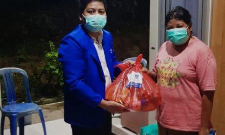 DPC GAMKI Kutim Turut Distribusikan Paket Sembako Kemensos di Kutim