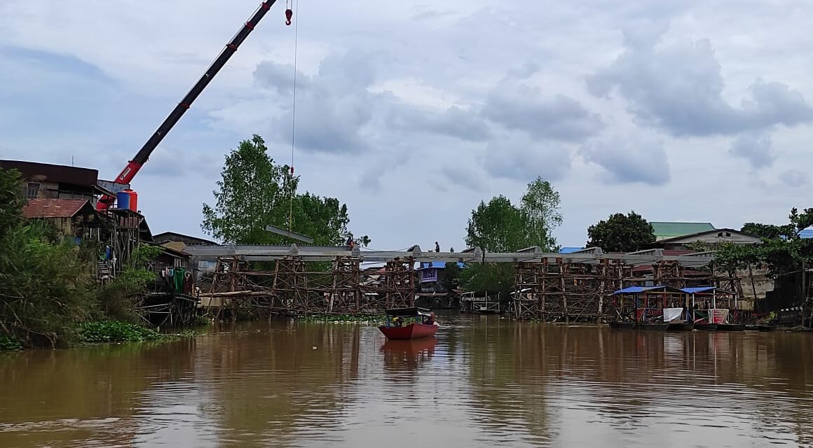 Jembatan Masabang Dikebut Capai Target