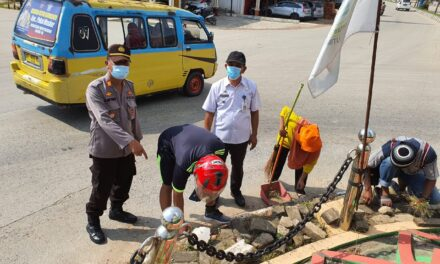 Tidak Pakai Masker Pengendara Disanksi Bersihkan Jalan Hingga Push Up