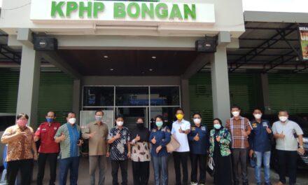 Monitoring Pengelolaan Hutan Sosial, Komisi II DPRD Kaltim Kunjungi KPHP Bongan