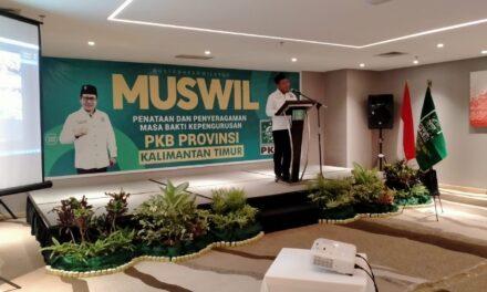 Syafruddin Terpilih Kembali Pimpin DPW PKB Kaltim