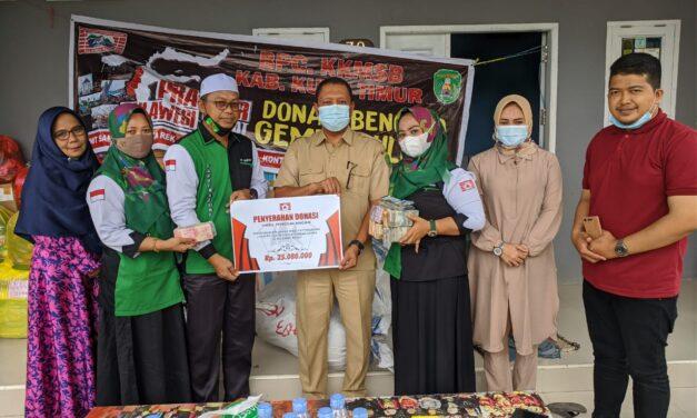 KKW Pattirosompe Kutim Serahkan Donasi Untuk Bencana di Sulbar dan Kalsel