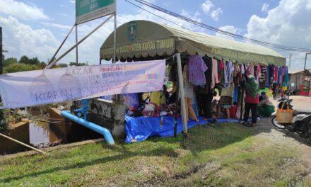 Warga Perumahan Griya Bukit Pelangi Buka Bazzar Murah Untuk Donasi Bencana di Sulbar dan Kalsel
