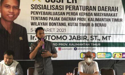 Sutomo Jabir Awali Sosper Pajak Daerah di Bontang