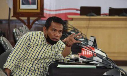 Rusman Ya'qub Pimpin Rapat Internal Pansus LKPJ