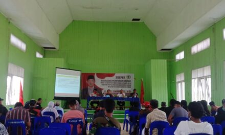 Anggota DPRD Kaltim Sosper Penyelenggaraan Bantuan Hukum Hingga kepelosok Kutim