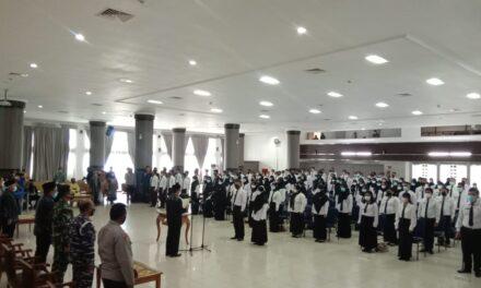 Bupati Lantik 156 PNS Jabatan Fungsional di Lingkup Pemkab Kutim