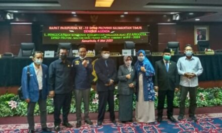 Makmur HAPK Lantik Sukmawati, PAW DPRD Kaltim