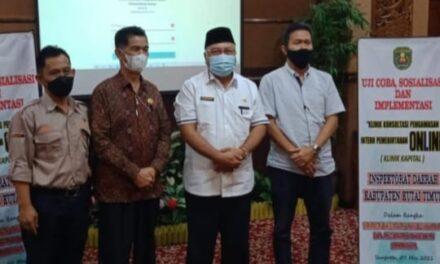 Inspektorat  Kutim luncurkan 2 inovasi baru, Klinik Kapital dan Si Pero