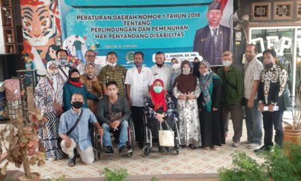 Jahidin Sosialisasikan Perda Perlindungan dan Pemenuhan Hak Penyandang Disabilitas