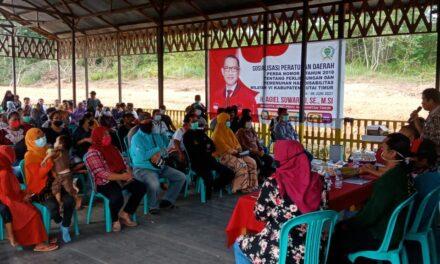 Sosialisasi Perda No 1 Tahun 2018, H. Agiel Suwarno ; Tidak Ada Lagi Diskriminasi Bagi Disabilitas