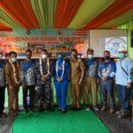 Dawilhanla, Lanal Sangatta Gelar Komsosmar di Pulau Miang
