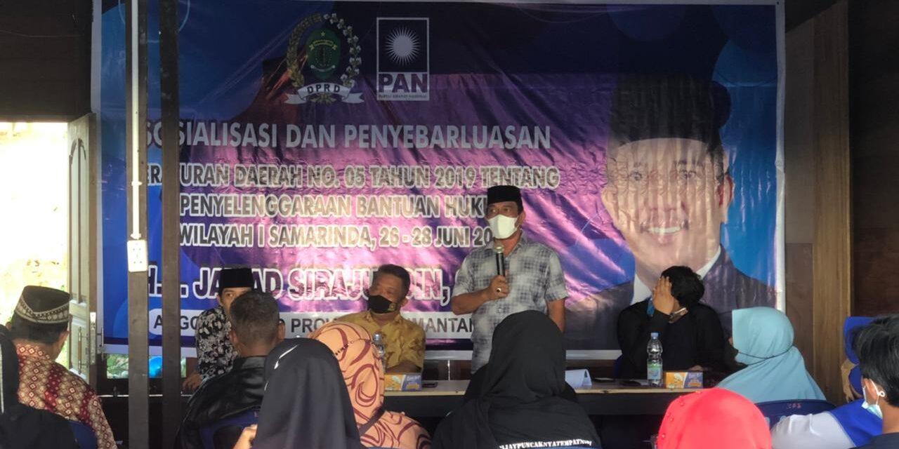 Jawad Sirajuddin Sosper Penyelenggaraan Bantuan Hukum di  Kelurahan Sido Mulyo