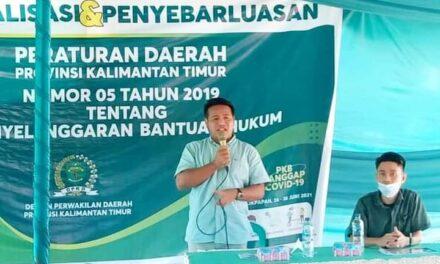 Jamin Pemenuhan Hak Bantuan Hukum, Syafruddin Sosper Perda Nomor 5 Tahun 2019