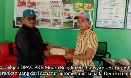 Turnamen Futsal di Desa Benua Baru Muara Bengkal, Sutomo Jabir Beri Dukungan