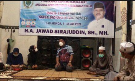 Reses Jawad Sirajuddin di Kelurahan Tenun, Warga Keluhkan Jalan Yang Rusak