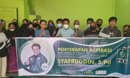 Reses Syafruddin di Sepinggan, Warga Ingin di Vaksinasi dan Air Bersih