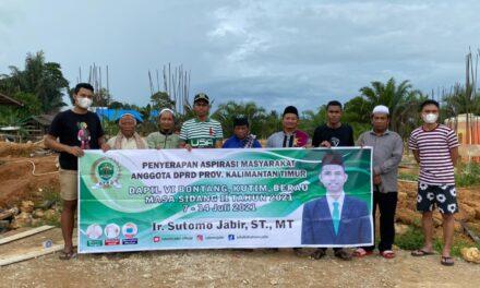 Reses Sutomo Di Kaubun, Warga Keluhkan Jalan Provinsi Yang Rusak