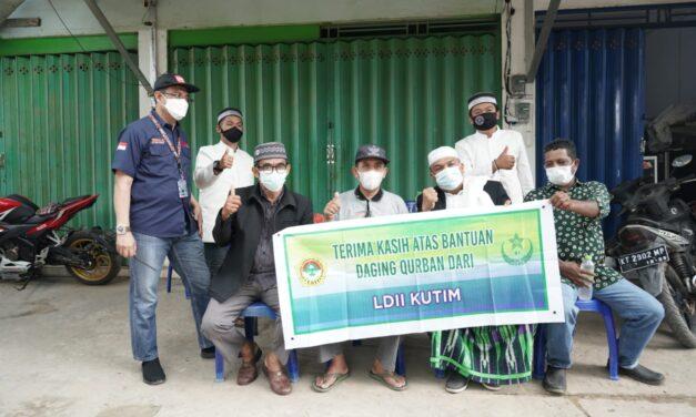 Ditengah Pandemi, LDII Kutim Sembelih 218 Hewan Qurban
