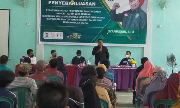 Syafruddin, Sosper Pajak Daerah di Desa Krayan Jaya