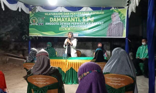 Damayanti Serap Aspirasi Masyarakat Lingkungan Batu Lumpang Kelurahan Sidodi