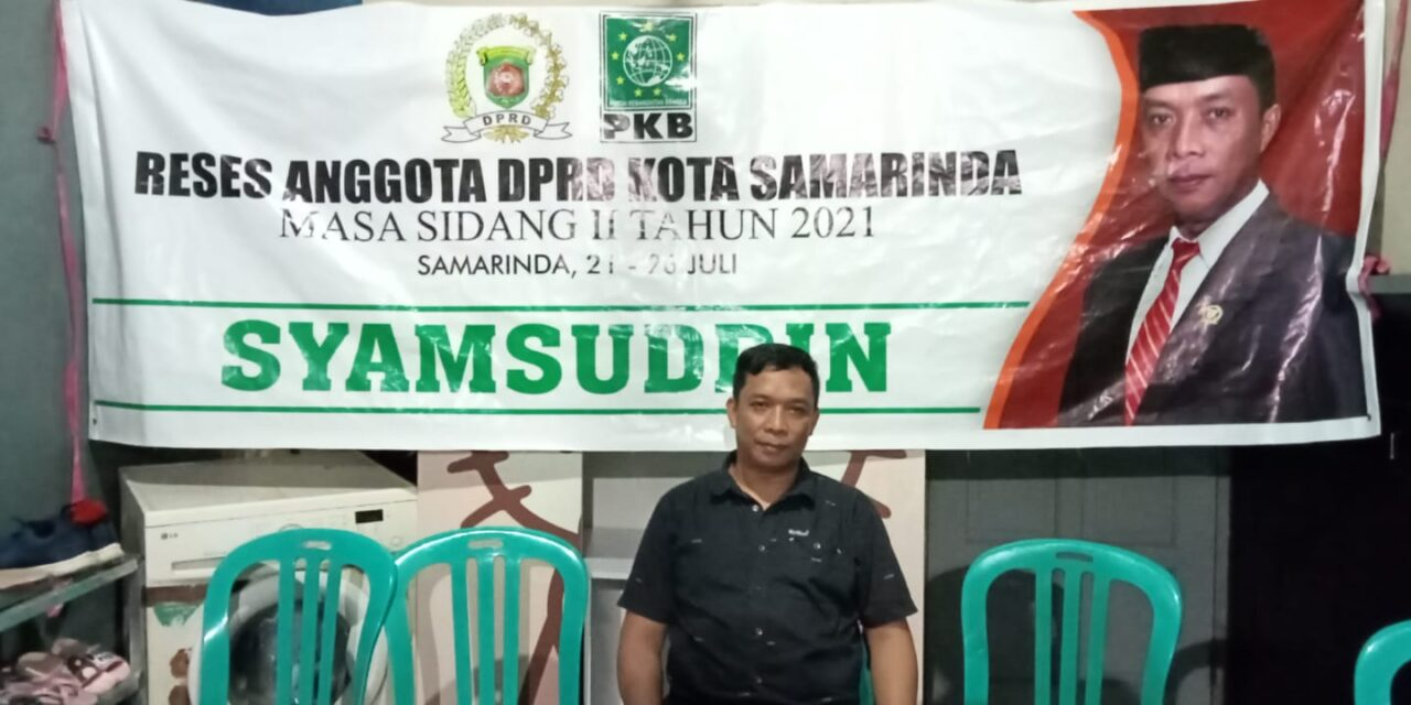 Reses Samsuddin di Sungai Pinang Dalam, Warga Usulkan Semenisasi dan Drainase