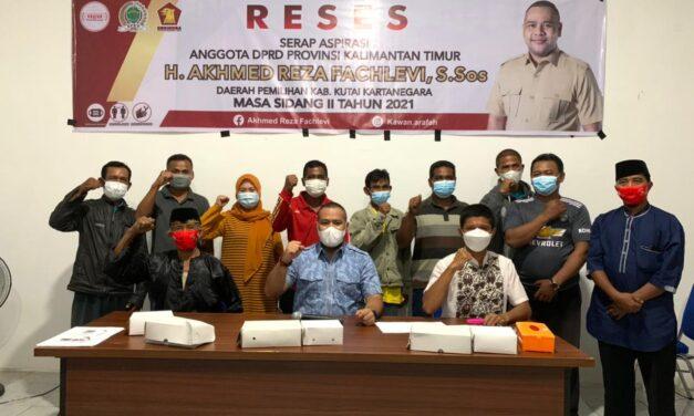 Reses di Beringin Agung, Akhmed Reza Fachlevi Terima Usulan Pupuk Padi, Bibit Sapi Bali dan Ternak Itik