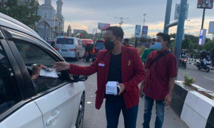 Cegah Meningkatnya Penyebaran Covid-19, GMP Samarinda Bagikan Masker