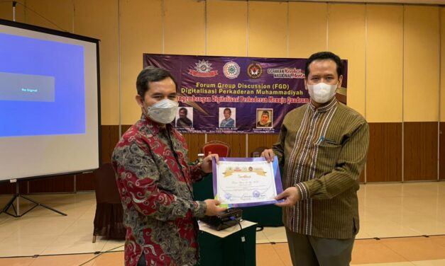 MPK PP Muhammadiyah Gelar FGD Digitilasisasi Perkaderan
