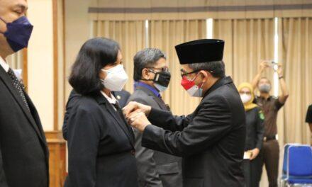 406 ASN Kutim Terima Penghargaan Satya Lencana Karya Satya dari Presiden RI