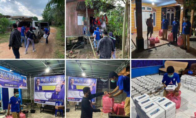 Tim Relawan Irwan Berhasil Salurkan 11. 740 Ribu Kotak Nasi Selama PPKM di Samarinda dan Kutim