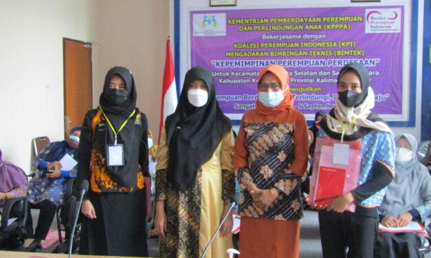 Perempuan Desa di Kutim Dilatih Kepemimpinan