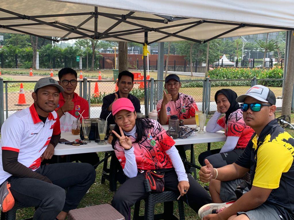 Ketua Perpani Terpilih Sutomo Jabir Memotivasi Atlet Panahan Kaltim di Pelatnas