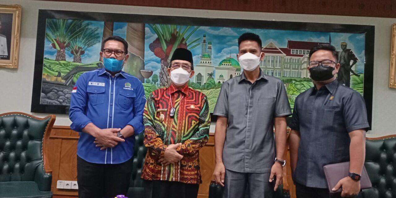 Bahas Bantuan Keuangan, Banggar DPRD Kaltim Kunjungi Kutim