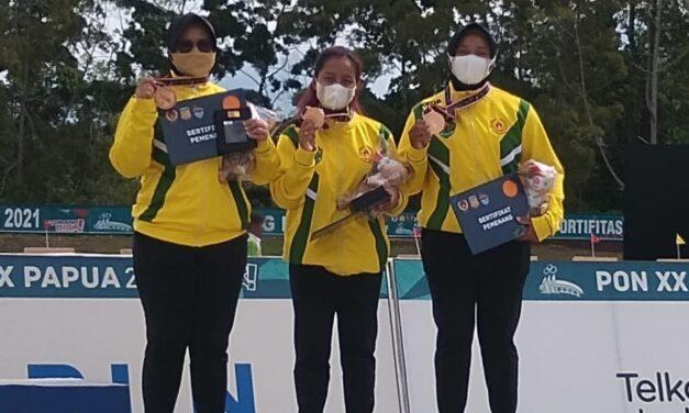 Trio Srikandi Kaltim Sabet Medali Perunggu Compound Beregu Putri