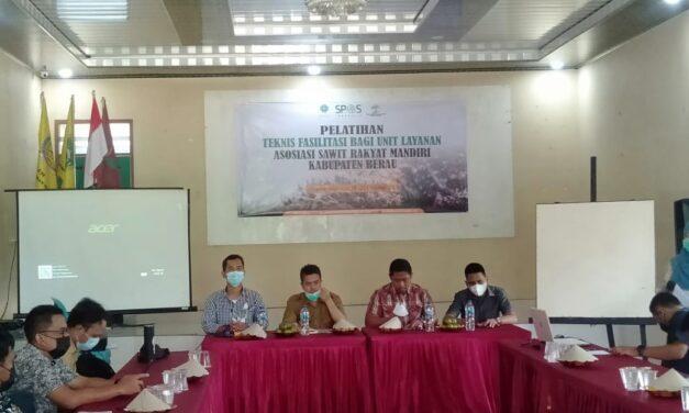 Asosiasi Sawit Rakyat Mandiri Selenggarakan Pelatihan Teknis Fasilitasi Bagi Unit Layanan